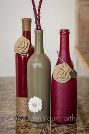 Empty Wine Bottle Decoration Ideas