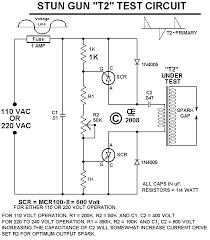 Taser Voltage Chart A Basic Stun Gun Concept