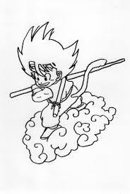 Bellissimo Schede Disegni Immagini Da Colorare Goku Migliori