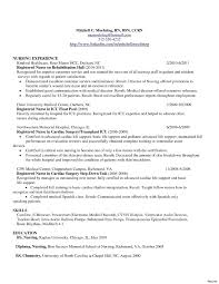 Examples Of Nursing Resumes Awesome Registered Nurse Resume Examples