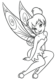 Coloring Pages Of Tinkerbell Download And Print Free Coloring Pages
