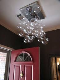 glass bubble chandelier diy my modern ball cascading make your own do it yourself bubble