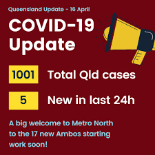 Coronavirus update Thursday 16th April.... - Ali King - Labor for  Pumicestone | Facebook