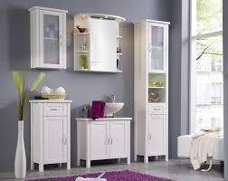 Lovely Idea Badmöbel Landhausstil Weiß Appealing Badschrank Holz