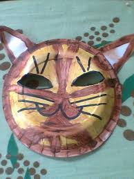 How To Make Face Mask From Chart Paper How To Make A Simple Cat Mask Feltmagnet