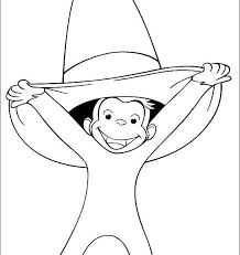 kids n fun 30 coloring pages of curious george amazing coloring sheets curious george pictures to