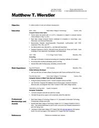 Computer Resume Skills New Resume Resume Sample Computer Science Badak For Examples Skills
