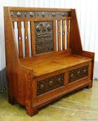 craftsman furniture. Shapland \u0026 Petter Glasgow Style Settle In Liberty Co From Hill House Antiques. Craftsman FurnitureAntique Furniture