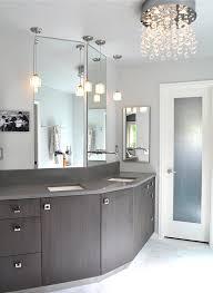 great mini chandeliers for bathrooms chandelier interesting pertaining to bathroom plan 5