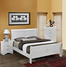 Louis White 3 Piece Bedroom Set
