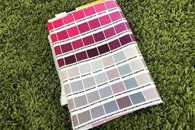 Swatch Set Color Chart Haerae Textile