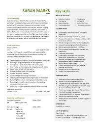Pastry Chef Resume Resume