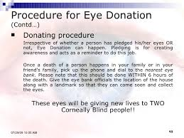 gift your sight  10 procedure for eye