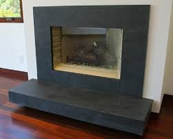perfect stone black slate fireplace
