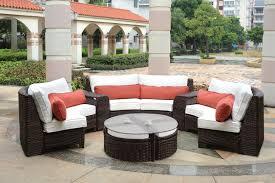 contemporary wooden outdoor sectional sofa design