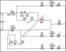 electronic circuits 8085 projects blog archive multi multi purpose rice cooker circuit