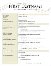 Resume Free Resume Builder And Free Download Best Inspiration For