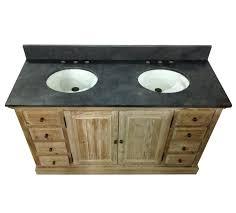 rustic double sink bathroom vanities.  Rustic Fascinating Rustic Double Bathroom Vanity Inch Sink  Legion  Intended Rustic Double Sink Bathroom Vanities I