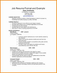 example of work resume 87 images personal statement for