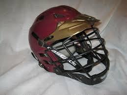 Cascade Clh2 Lacrosse Helmet M L Maroon Gold