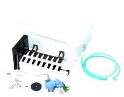 ice maker leaking water ice maker leaking water file refrigerator water line elite repair how to
