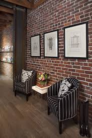 interior design ideas with brick walls