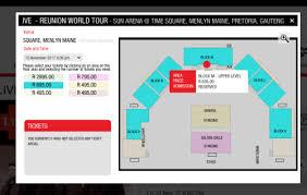 Live Concert Tickets For Sale Menlyn Park 10 Nov 2017