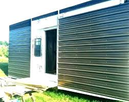 steel siding panels corrugated metal cost vertical home depot panel