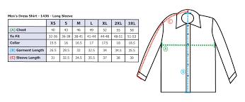Size Chart Dress Shirt Men Mens Teflon Dress Shirt Long Sleeve Clearance Restaurant