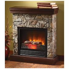 Faux Fireplace Insert Fireplace Space Heaters Dactus Contemporary Design Living Room