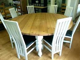 round dining table for 6 8 seat kitchen seats