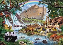 animal digital art noahs ark the homecoming by steve crisp