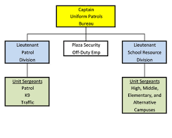 Law Enforcement Hierarchy Chart Organizational Structure Montgomery County Government