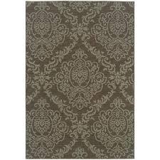 home decorators collection bimini grey 8 ft x 11 ft indoor outdoor area