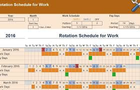 excel rotating schedule 49 rotating schedule template perfect muboo info