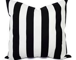 striped throw pillows. Contemporary Throw Two Black And White Pillow Covers  Striped Decorative Throw  12x16 12x18 14x14 16x16 18x18 20x20 22x22 24x24 26x26 Cover And Pillows