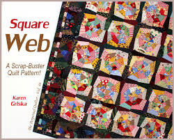 Selvage Blog & Square Web Quilt Pattern! Adamdwight.com
