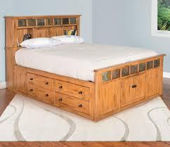 Sunny Designs Bedroom Furniture Sedona Queen Storage Bed W Slate By Sunny Designs Bedroom Sets