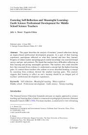 self introduction essay reflection in learning and professional development essay teodor ilincai