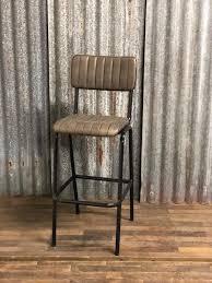 industrial vintage retro vintage barstool grey industrial style bar stools chairs barstools antiekgroothandel