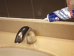 caulk for faucet caulk around bathtub faucet best caulking for bathtubs tub meets