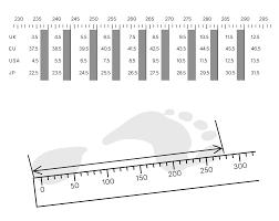 Shoe Size Chart Quoc