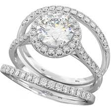 Now Forever And Always Wedding Ring Set