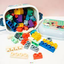 Đồ chơi lắp ghép Lego nhựa dẻo 80 chi tiết ( Từ 1-3 tuổi) chính hãng  300,000đ