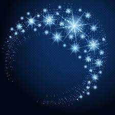 dark blue background stars. Modren Background Vector  Glowing Circle With Stars Sparkles And Lights Blue Stars  On Dark Blue Background In Dark Background Stars R