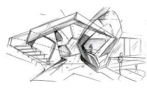 Contemporary Architecture Design Sketches Concept Best On Decorating