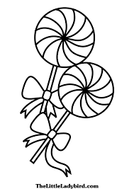 Sucker Coloring Page At Getdrawingscom Free For Personal Use