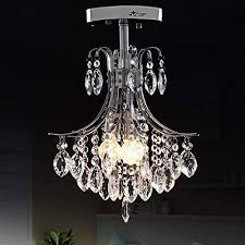 oofay light e12 e14 2 head crystal chandelier for living room modern crystal