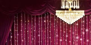 lighting decoration for wedding. Curtain Lights Lighting Decoration For Wedding