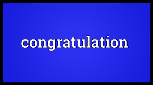 Another Word For Congratulations Congratulation Meaning Youtube